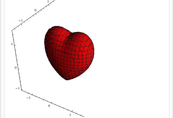Сердце Тобина и другие математические поверхности и графики функций в форме сердца
